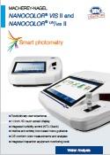 Spectrofotometrele VIS II & UV-VIS II