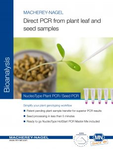 NucleoType Plant Seed PCR