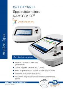 Spectrofotometrele NANOCOLOR UV-VIS II & VIS II